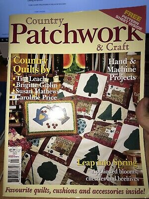 COUNTRY PATCHWORK & CRAFT magazine vol.2 no.2 - hand & machine projects - 2004