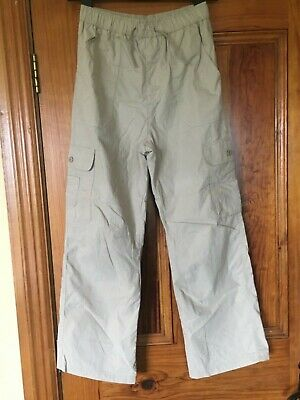 Dunnes Cargo Fully Lined Trousers 27 Inch Waist Worn Once Brilliant Condition