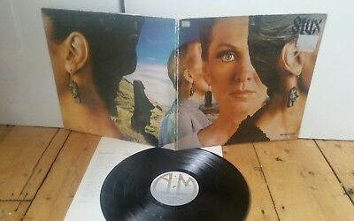 Styx - 'Pieces Of Eight' 1978 UK A&M LP AMLH64724- A-1/B-1