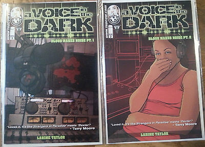 A voice in the Dark 1 and 2 Image Comics All first prints.