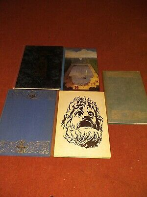 Vintage Hardback Factual Books from the folio society
