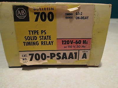 Nib Allen Bradley 700-Psaa1 Solid State Timing Relay
