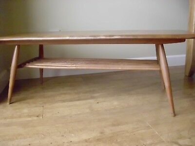 Mid Century Ercol Coffee Table Fully Refinished