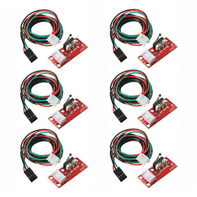 6pcs Endstop Limit Mechanical End Stop Switch W/ Cable for CNC 3D Printer R T8Z5