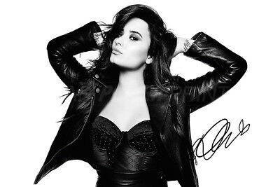 Demi Lovato pre signed photo print poster - Sorry not sorry - Glee - Unbroken