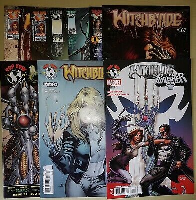 Witchblade Lot of 9 #22 83 84 99 120 167 Tales Of #5, Punisher, Destinys Child