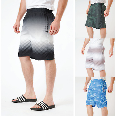 Mens Swimming Shorts Board Trunks Mesh Lined Summer Beach Holiday Surfing M-3XL