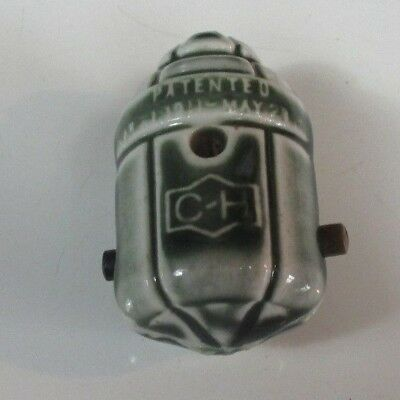 Antique/Vintage Porcelain Light Sockets hubbell Cutler GE Pendant switch 1911
