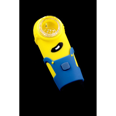 Silicone Minion Pipe- FOR TOBACCO USE ONLY