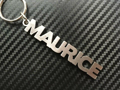 DARCY Personalised Name Keyring Keychain Key Fob Bespoke Stainless Steel Gift