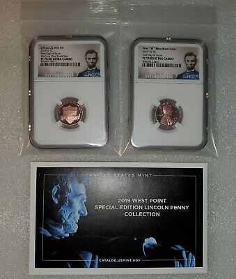 2019 S & W Lincoln Cent NGC PF70RD First Day of Issue Portrait Label Set (#063)