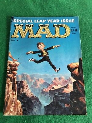 Vintage 1960's MAD Magazine Comic Book March 1960 Number 4 Special Edition