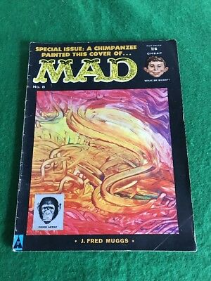 Vintage 1950's MAD Magazine Comic Book March 1958 Number 8 UK Version Special