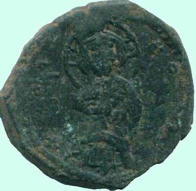 AUTHENTIC BYZANTINE EMPIRE  Æ Coin 1.4 g/19.1  mm ANC13597.16