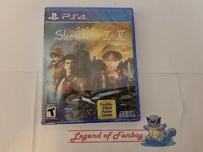 * New *  Shenmue I & II - Sony PlayStation 4 ps4 * Sealed Game * Shenmue 1 + 2