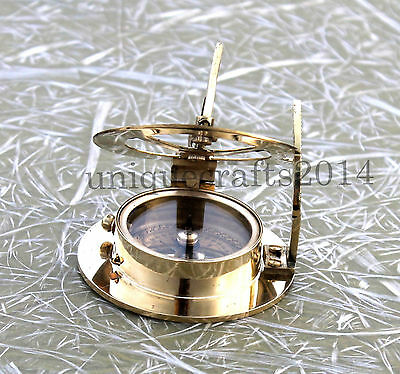 Solid Brass West London Compass Maritime Vintage Handmade Nautical Compass Item.