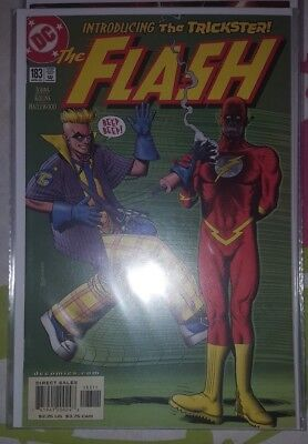 FLASH #183 DC COMICS 1st APPEARANCE OF AXEL WALKER THE NEW TRICKSTER APRIL 2002