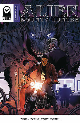 Alien Bounty Hunter #1 Nm First Print As New Unread Vault Comics Mark Wahlberg