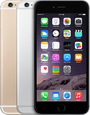 Apple iPhone 6 Plus- 16GB - Space Gray Gold White  (Factory Unlocked) A