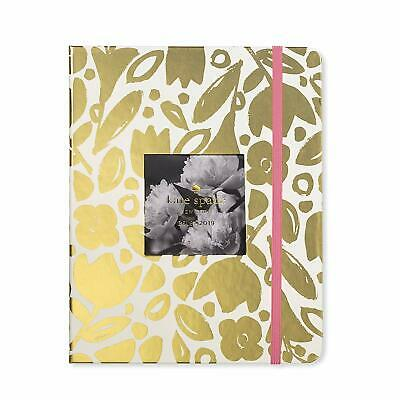 Kate Spade Large Agenda In Golden Floral 2018/19 Planner