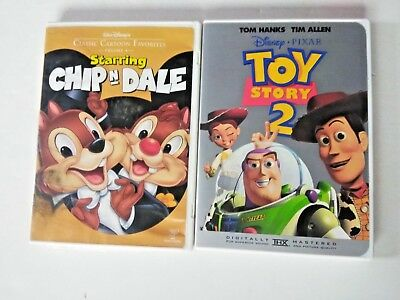 Walt Disneys Classic Cartoon Favorites Starring Chip n Dale/Toy Story 2 DVD