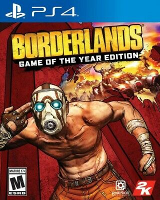 Borderlands Game Of The Year Edition Remastered PS4 New Sealed Free Shipping