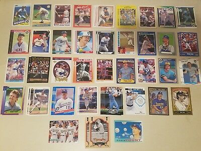 Lot 60 Robin Yount Milwaukee Brewers HOF Inserts UD Topps OPeeChee Donruss Fleer