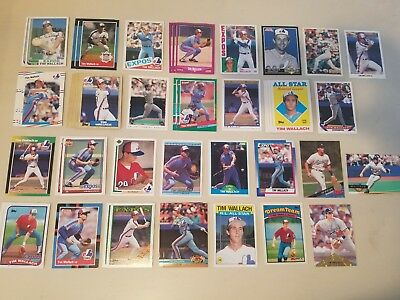 Lot 48 Tim Wallach Montreal Expos Dodgers Inserts Topps UD OPeeChee +
