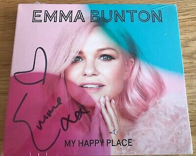 Signed Emma Benton My Happy Place CD  New Sealed  Baby Spice Girls Autographed