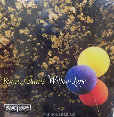 """RYAN ADAMS 7"""" Willow Lane / Yes Or Run / Red 3 TRACK Ep. Limited Ed. 2015 SEALED"""