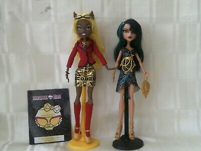 Monster high frights camera action Cleo and Claudia