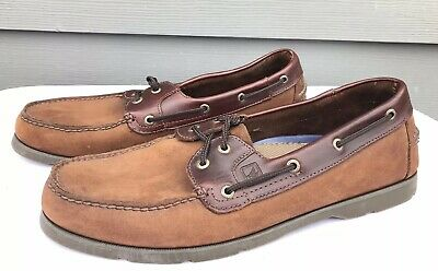 SPERRY TOP-SIDER AO Black Leather Moc