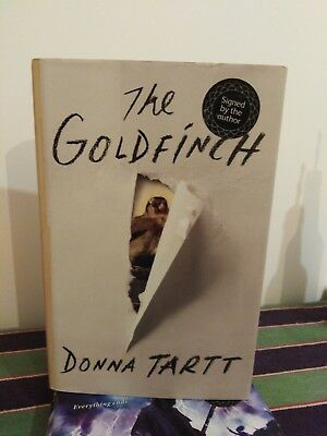 The Goldfinch by Donna Tartt (Hardback, 2013) Signed 1/1st Edition