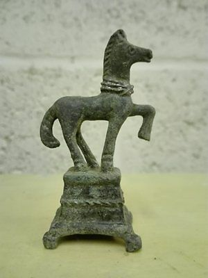 Interesting Roman Bronze Statuete Horse