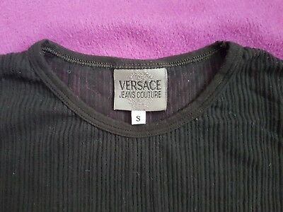 9f44c217 Versace jeans couture vintage women t shirt, size S, made in Italy