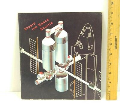 NASA Aboard the Space Shuttle Vintage Book 1980 Space Exploration, Collectible