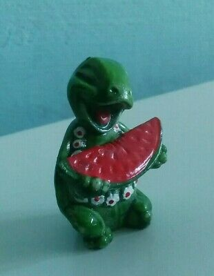 Vintage 1990s Kinder Egg Terrapins / Turtles Retro Collectible Rare - Watermelon