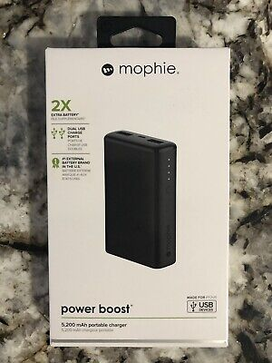 sports shoes 1770a 65963 MOPHIE POWER BOOST 5200 mAh Portable Charger Power Bank