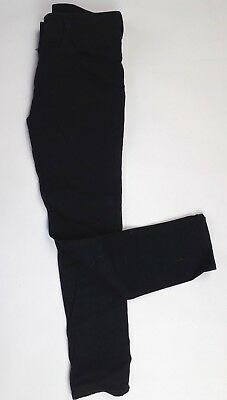 Girls NEXT black smart jeans party trousers Adjustable waist (B198)*