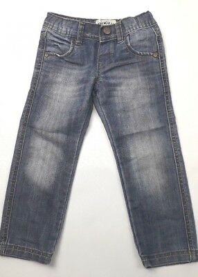 BOYS M&S blue jeans age 2 - 3 years (B 254)*