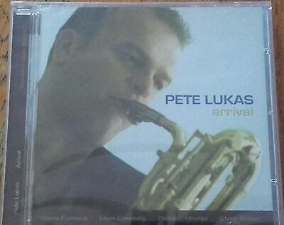 "Pete Lukas - ""Arrival"" CD Album (2007) BRAND NEW & Factory Sealed"
