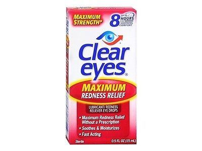Clear Eyes Max Redness Relief 0.5 oz