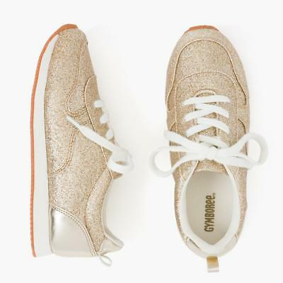 70d688c4d6e8 GOLD GLITTER SNEAKERS CRAZY 8 by Gymboree Girls Slip On Shoes ...