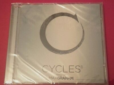 """Cycles 8"" Various - Mixed By Max Graham. CD Album. BRAND NEW & FACTORY SEALED"