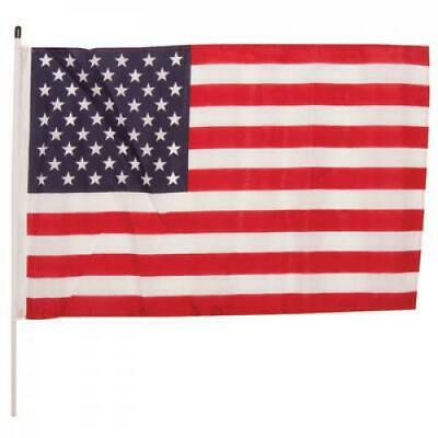"Whip-It Flags Specialty Flag - 3'x5' - 1/2"" x 6' Pole American Flag"