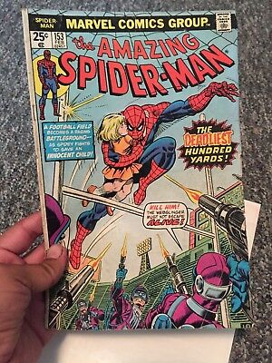 The Amazing Spider-Man (Marvel) Issue no.153 Feb 1976!!  Good Condition!!