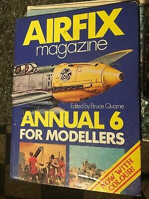 1976 Airfix Magazine Annual 6 For Modellers Now With Full Colour