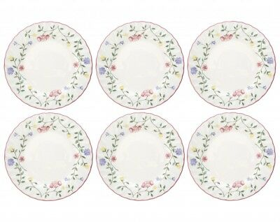 Summer Chintz Tea Plates x 6 - 6 3/4 inch - Johnson Brothers Multiple Available