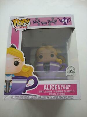 Funko Pop ! ALICE At The Mad Tea Party #54 Disney Parks Exclusive Alice Teacup
