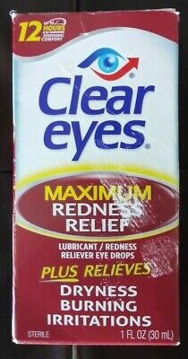 Clear Eyes MAXIMUM REDNESS RELIEF